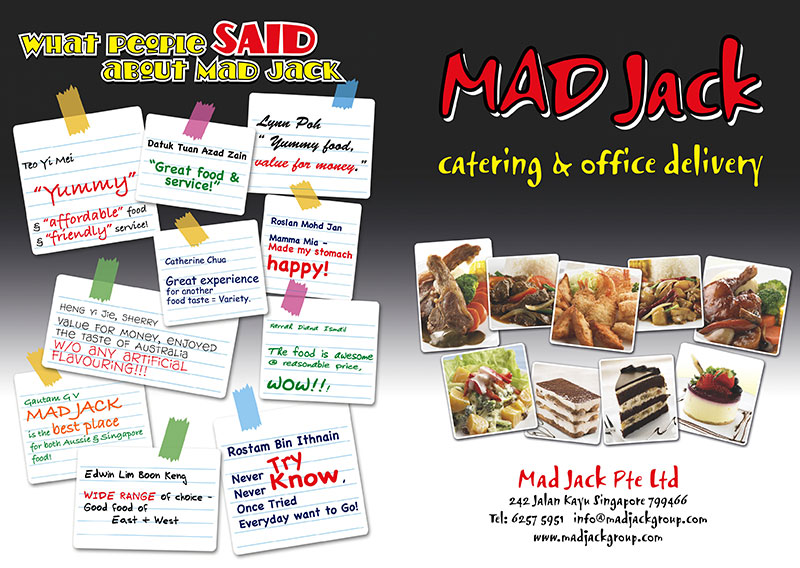 Catering in Singapore   MAD JACK